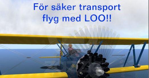 flyg med Loo