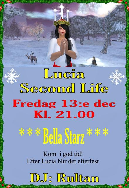 Inbjudan Lucia