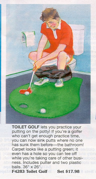 golf toalett