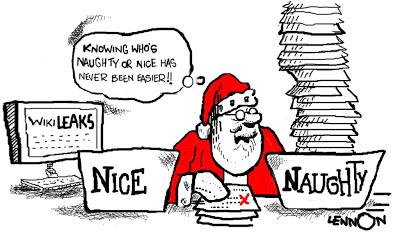 blogg jul tomten sorterar listor